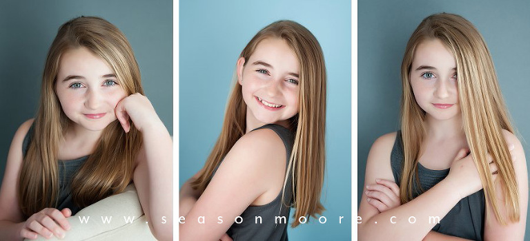 child actress headshots durham