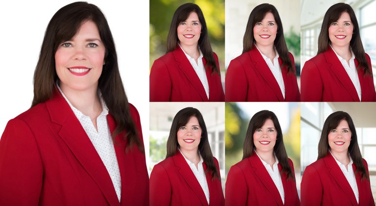 composite headshot background raleigh durham professional photographer